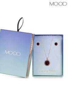 Mood Rose Gold Halo Set in a Gift Box