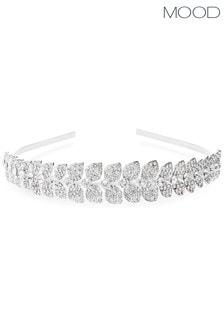 Mood Leaf Diamante Hairband