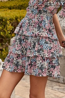 Lipsy Tiered Mini Skirt