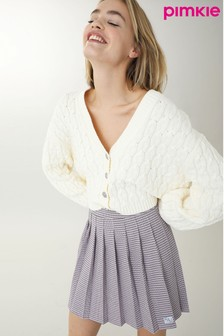 Pimkie Cable Knit Crop Cardigan