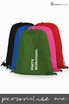 Personalised Full Name PE Bag by Loveabode