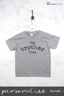 Personalised Big Brother T-Shirt by Loveabode