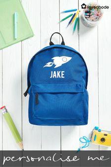 Personalised Rocket Backpack by Loveabode