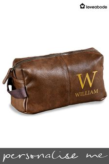 Personalised Initials Wash Bag By Loveabode