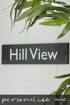 Personalised Ben Nevis House Sign By Loveabode