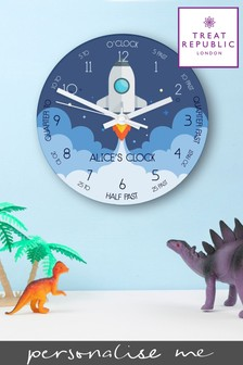 Personalised Wall Clock by Treat Republic