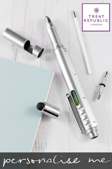 Personalised Multi Tool Pen by Treat Republic