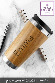 Personalised Travel Mug by Treat Republic