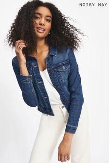 Noisy May Fitted Denim Jacket
