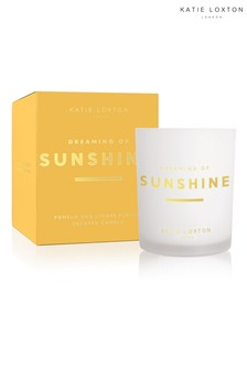 Katie Loxton Sentiment Candle | Dreaming of Sunshine | Pomelo and Lychee Flower | 160g