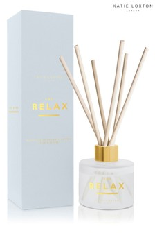 Katie Loxton Sentiment Reed Diffuser | And Relax | White Orchid and Soft Cotton | 100ml