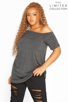 Yours Limited Collection Asymmetric Basic Top