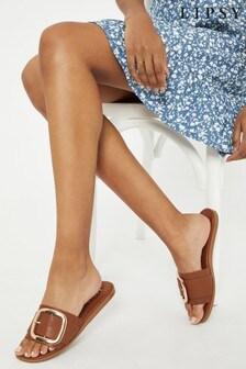 Lipsy Buckle Mule Sandal