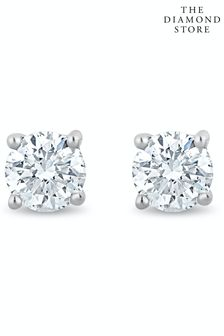 The Diamond Store Lab Diamond Stud Earrings 0.20ct H/Si Quality 3mm