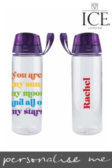 Personalised Rainbow Bottle by Ice London