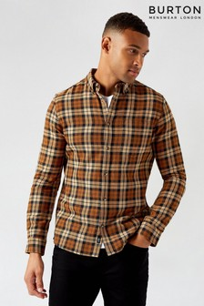 Burton Long Sleeve Check Shirt