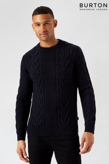 Burton Cable Knit Jumper