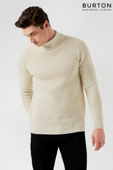 Burton Chunky Roll Neck Jumper