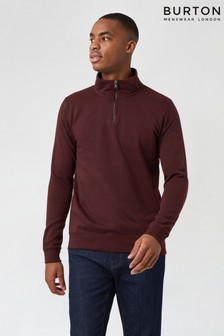 Burton Quarter Zip Funnel Jumper
