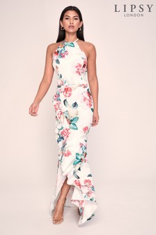 Lipsy Ruffle Maxi Dress