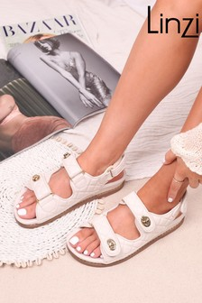 Linzi Luxe Gilda Quilted Upper Sandal