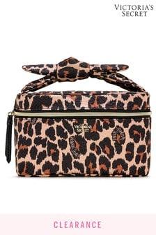 Victoria's Secret Leopard Runway Train Case