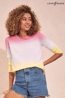 Love & Roses Ombre Jumper