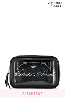 Victoria's Secret Love Backstage Nested Trio Cosmetic Bags
