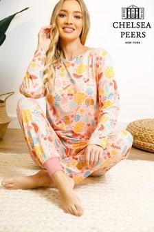 Chelsea Peers Wellness Project Yoga Pyjama Set in Recycled Fabric