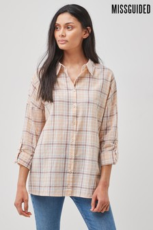Missguided Check Shirt