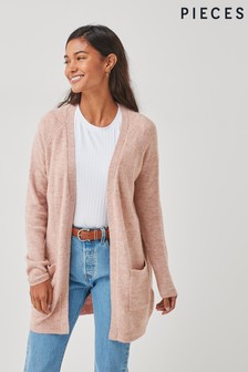 Pieces Long line Knitted Cardigan