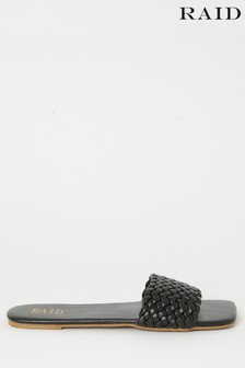 Raid Clover Square Toe Quilted Sandal
