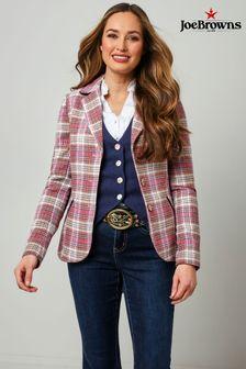 Joe Browns Rose Check Jacket