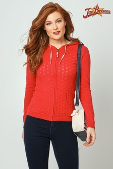 Joe Browns Perfect Pointelle Hooded Knit