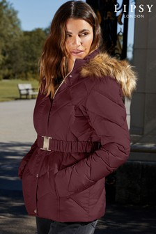 Lipsy Belted Padded Jacket
