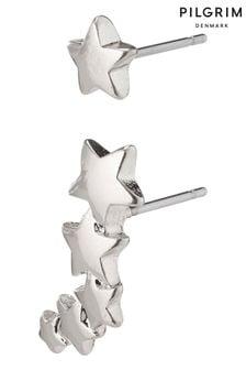 PILGRIM Ava Crawler Star Earrings