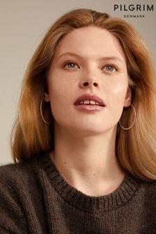 PILGRIM Tilly Large Hoop Earrings