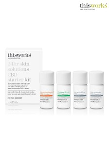 This Works CBD Skin Booster Kit 4 x 4ml