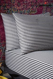 Joe Browns Brilliant Printed Striped Bedding Pillow Case Set