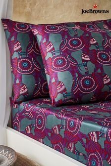 Joe Browns Brilliant Printed Floral Bedding Pillow Case Set