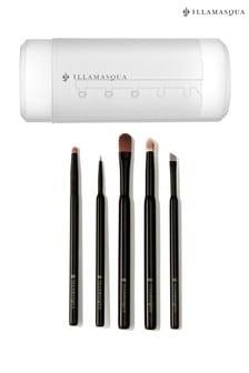 Illamasqua Make Up Brush Canister & Brush Kit – Eyes (Worth £99)