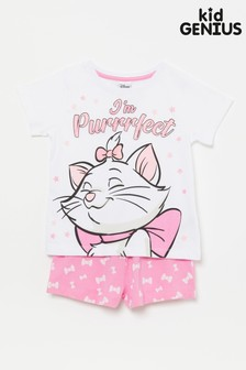 Kid Genius Marie Im Purrfect Short Pj Set