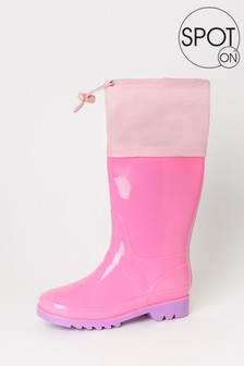 SPOT ON Toggle High Leg Welly (Older)
