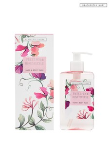 Heathcote & Ivory New Sweetpea and Honeysuckle 250ml Hand and Body Wash