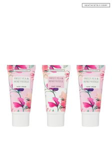 Heathcote & Ivory New Sweetpea and Honeysuckle Hand Cream Collection