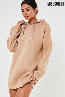 Missguided Loungewear Oversized Hoodie Dress
