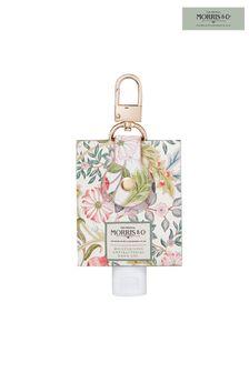 Morris & Co Jasmine and Green Tea Moisturising Antibacterial Hand Gel Bag Charm 45ml
