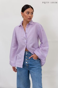 Pretty Lavish Belle Linen Shirt