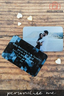 Personalised Photo And Message Card by Instajunction