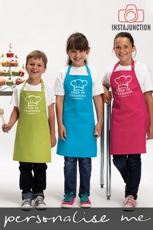 Personalised Chef In Training Kids Aprons by Instajunction